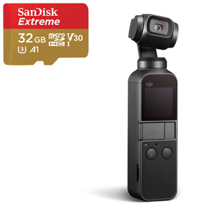 DJI Osmo Pocket + SanDisk Extreme microSDHC 32GB - MediaWorld.it