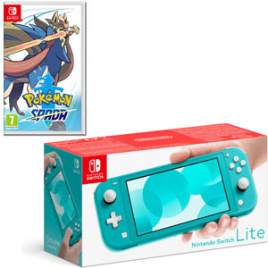 NINTENDO SWITCH LITE TURCHESE + NINTENDO Pokémon Spada - NSW - MediaWorld.it