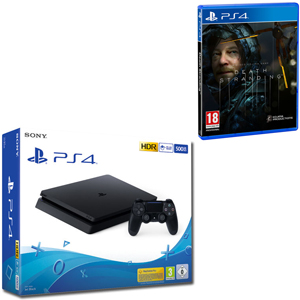 SONY PS4 500GB F Chassis Black + SONY Death Stranding - PS4 - MediaWorld.it