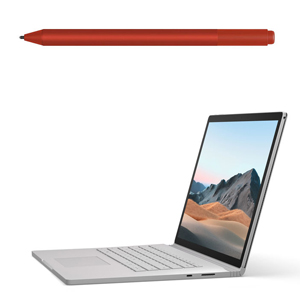 "MICROSOFT Surface Book 3 15"" I7 256GB + Surface Pen Rosso - MediaWorld.it"