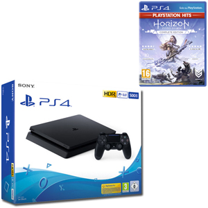 SONY PS4 500GB F Chassis Black + Horizon Zero Dawn: Complete Edition HITS - PS4 - MediaWorld.it