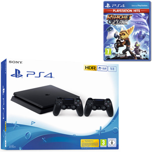 SONY PS4 1TB F + 2 Dualshock 4 Wireless Controller + Ratchet & Clank (PS Hits) - PS4 - MediaWorld.it