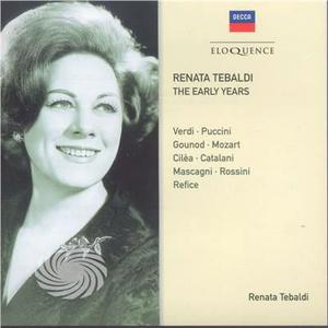 Tebaldi,Renata - Early Years - CD - MediaWorld.it