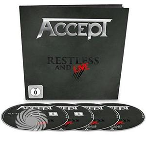 ACCEPT - RESTLESS & LIVE - Blu-Ray - MediaWorld.it