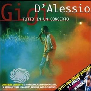 D'Alessio,Gigi - Tutto In Un Concerto - CD - MediaWorld.it