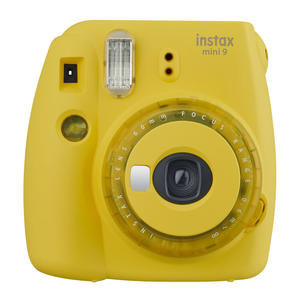 FUJIFILM INSTAX MINI 9 CLEAR YELLOW GIALLO - MediaWorld.it
