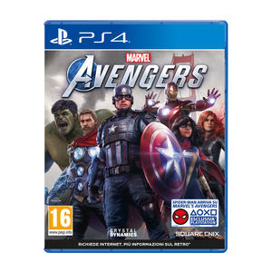 PREVENDITA Marvel's Avengers - PS4 - MediaWorld.it