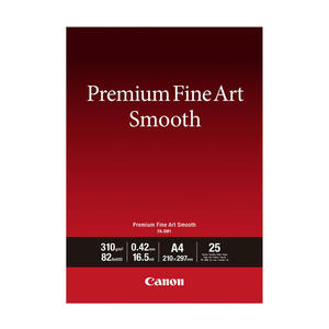 CANON CARTA PREMIUM FINE ART SM A4 25FG - MediaWorld.it