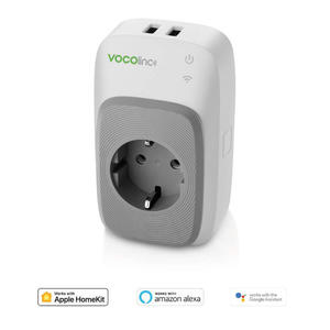 VOCOLINC PM5 SMART AC OUTLET, 2 USB - MediaWorld.it