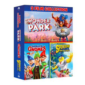 Wonder Park Boxset (Wonder Park + Sherlock Gnomes + Spongebob Fuori dall'acqua) - DVD - MediaWorld.it