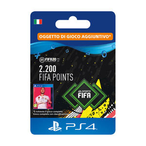 SONY Card PS4 FIFA 20 2200 punti - MediaWorld.it
