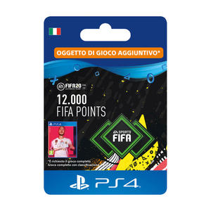 SONY Card PS4 FIFA 20 12.000 punti - MediaWorld.it