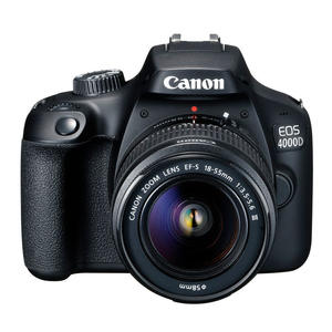CANON EOS 4000D + EF-S 18-55 MM DC III VUK BLACK - MediaWorld.it