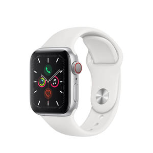 APPLE Watch Series 5 GPS+Cellular 44mm in alluminio color argento - Sport Bianco - MediaWorld.it