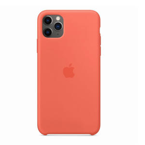 APPLE Custodia in silicone per iPhone 11 Pro Max - Mandarancio - MediaWorld.it