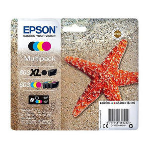 EPSON Cartuccia  603XLbk/603Cmy 4 colori - MediaWorld.it