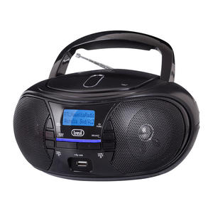 TREVI STEREO PORTATILE DAB CD MP3 USB AUX-IN CMP581 NERO - MediaWorld.it