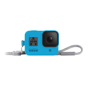 GOPRO Guaina + cordino Hero 8 - Blu - MediaWorld.it