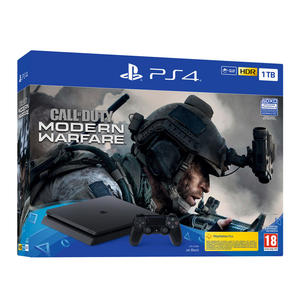 SONY PS4 1TB F + Call of Duty: Modern Warfare - MediaWorld.it