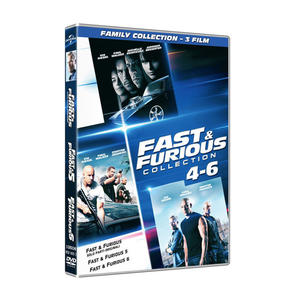 Fast & Furious 4-6: Family Collection - DVD - MediaWorld.it