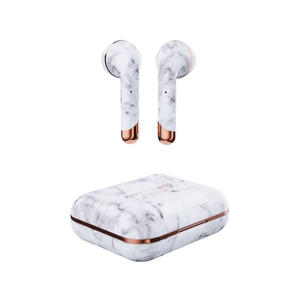 HAPPY PLUGS AIR1 - White Marble - MediaWorld.it