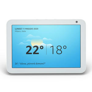 AMAZON Echo Show 8 White - MediaWorld.it