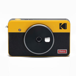 KODAK MINI SHOT 2 CAMERA COMBO Giallo Retrò - MediaWorld.it