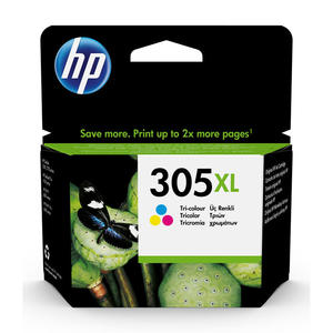 HP 305XL Tricomia cartuccia d'inchiostro originale 3YM63AEBL - MediaWorld.it