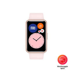 HUAWEI WATCH FIT Pink - MediaWorld.it