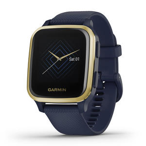 GARMIN Venu Sq Music Edition - Navy Light Gold - MediaWorld.it