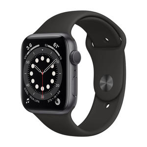 APPLE Watch Series 6 GPS 44mm in alluminio grigio siderale - Sport Nero - MediaWorld.it