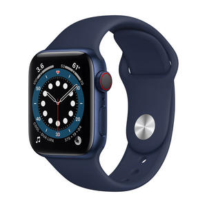 APPLE Watch Series 6 GPS+Cellular 40mm in alluminio azzurro - Sport Blu atlantico - MediaWorld.it