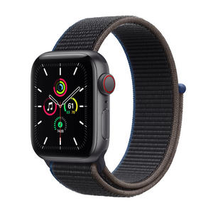 APPLE Watch SE GPS+Cellular 40mm in alluminio grigio siderale - Sport loop Carbone - MediaWorld.it
