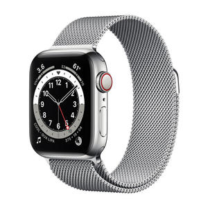 APPLE Watch Series 6 GPS+Cellular 40mm in acciaio - Loop Maglia Milanese - MediaWorld.it