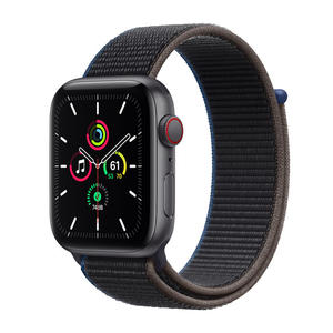 APPLE Watch SE GPS+Cellular 44mm in alluminio grigio siderale - Sport loop Carbone - MediaWorld.it