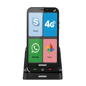 BRONDI Amico Smartphone 4G NERO - MediaWorld.it