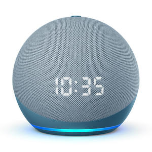 AMAZON ECHO DOT con Display LED (4ª generazione) Ceruleo - MediaWorld.it