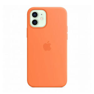 APPLE Custodia MagSafe in silicone per iPhone 12/12 Pro - Kumquat - MediaWorld.it