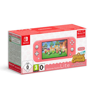 NINTENDO Switch Lite Coral + Animal Crossing New Horizons + Nintendo Switch On-Line 3 mesi - MediaWorld.it