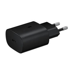 SAMSUNG Wall Charger Super Fast Charging (25W) Type-C Black - MediaWorld.it