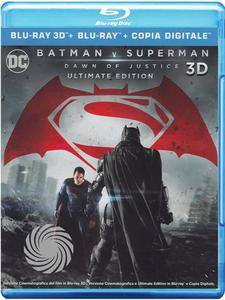 Batman V Superman - Dawn of justice - Blu-Ray  3D - MediaWorld.it