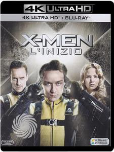 X-men - L'inizio - Blu-Ray  UHD - MediaWorld.it