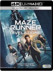 Maze Runner - La rivelazione - Blu-Ray  UHD - MediaWorld.it