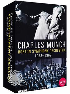 Charles Munch and The Boston Symphony Orchestra - 1958/1962 - DVD - MediaWorld.it