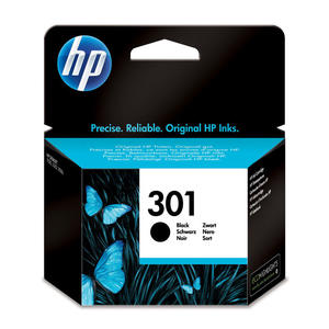 HP 301 Nero cartuccia d'inchiostro originale CH561EE - MediaWorld.it