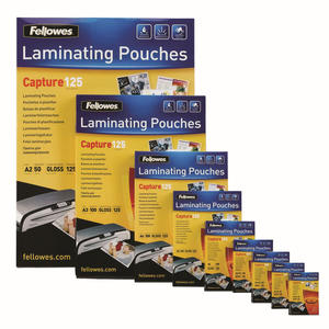 FELLOWES Pouches lucide A4 5307407 - MediaWorld.it
