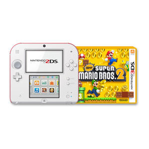 NINTENDO 2DS New Super MarioBros. 2 Special Edition Bianco + Rosso - MediaWorld.it