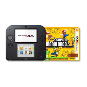 NINTENDO 2DS New Super Mario Bros.2 Special Edition Nero e Blu - MediaWorld.it