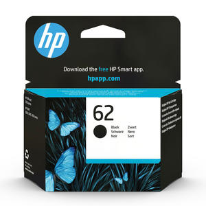 HP 62 Nero cartuccia d'inchiostro originale C2P04AE - MediaWorld.it