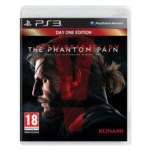 Metal Gear Solid V: The Phantom Pain Day One - PS3